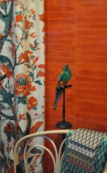 100% zijde Silkbird van DEDAR - behang Elitis Anguille